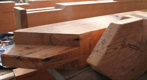 Post and Beams with custom milling