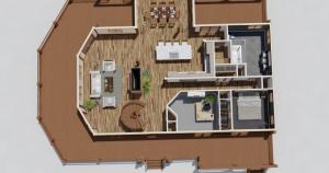 Cold Creek Timber Frame House Plan