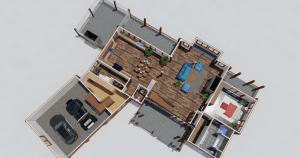 Deep Creek Timber Frame House Plan