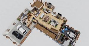 The Vineyard Timber Frame House Plan