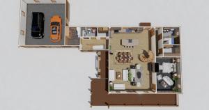 Cherry Hill Timber Frame House Plan