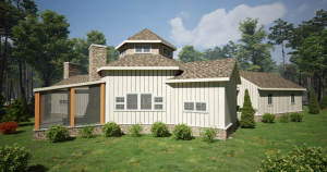 Whitaker Lane timber frame house plan