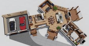 whitaker lane timber frame house plan
