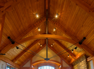 timber truss roof