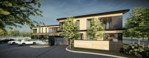 OnSpring Timber Frame HQ Office Building
