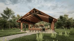 Devil's Tower Pavilion Rendering