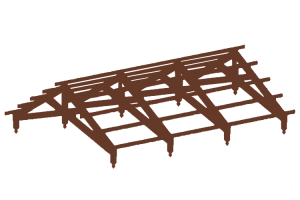 timber Frame Purlins